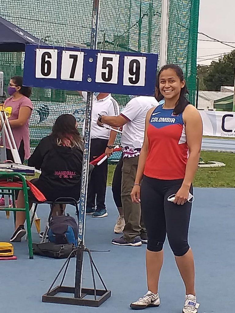 Mayra Gaviria se lució en martillo, en la apertura del GPS Reinaldo Gorno 3