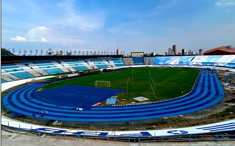 Nuevo Equipo para el Sudamericano 8