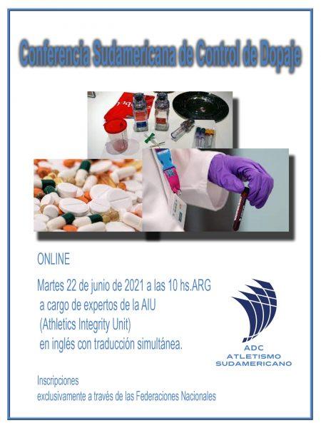 Conferencia Sudamericana de Control de Dopaje 2