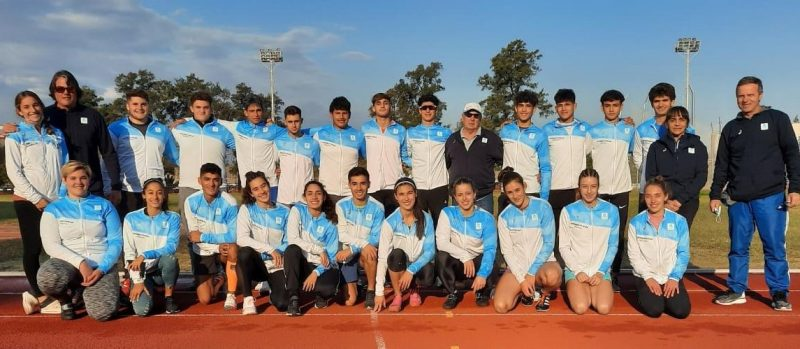 El Atletismo U-20 a Lima 8