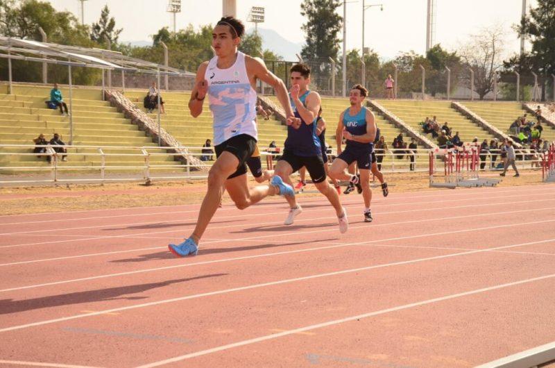 Nahuel Pinti, de regreso en Mendoza con 10s.77 6