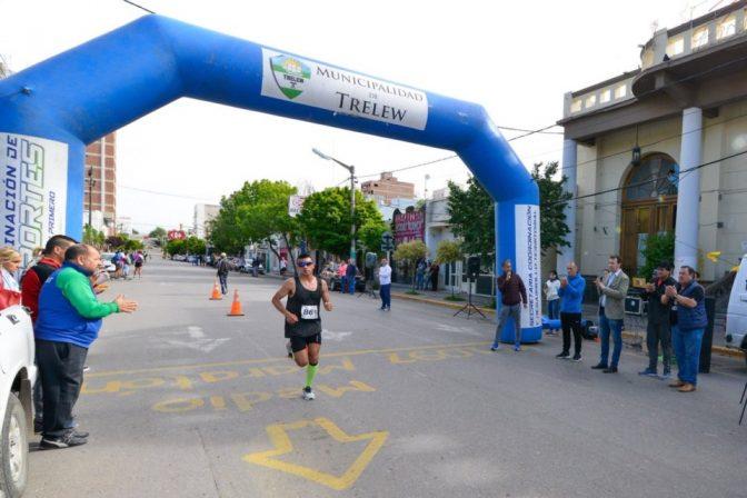 Hugo Rodríguez ganó el maratón patagónico 1