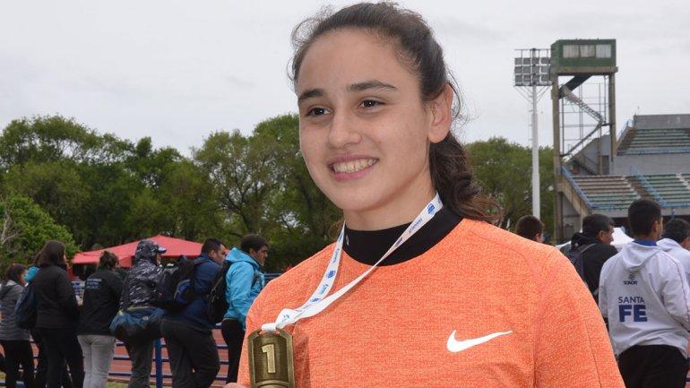 Récord de Agustina Moraga en la Copa u18 6
