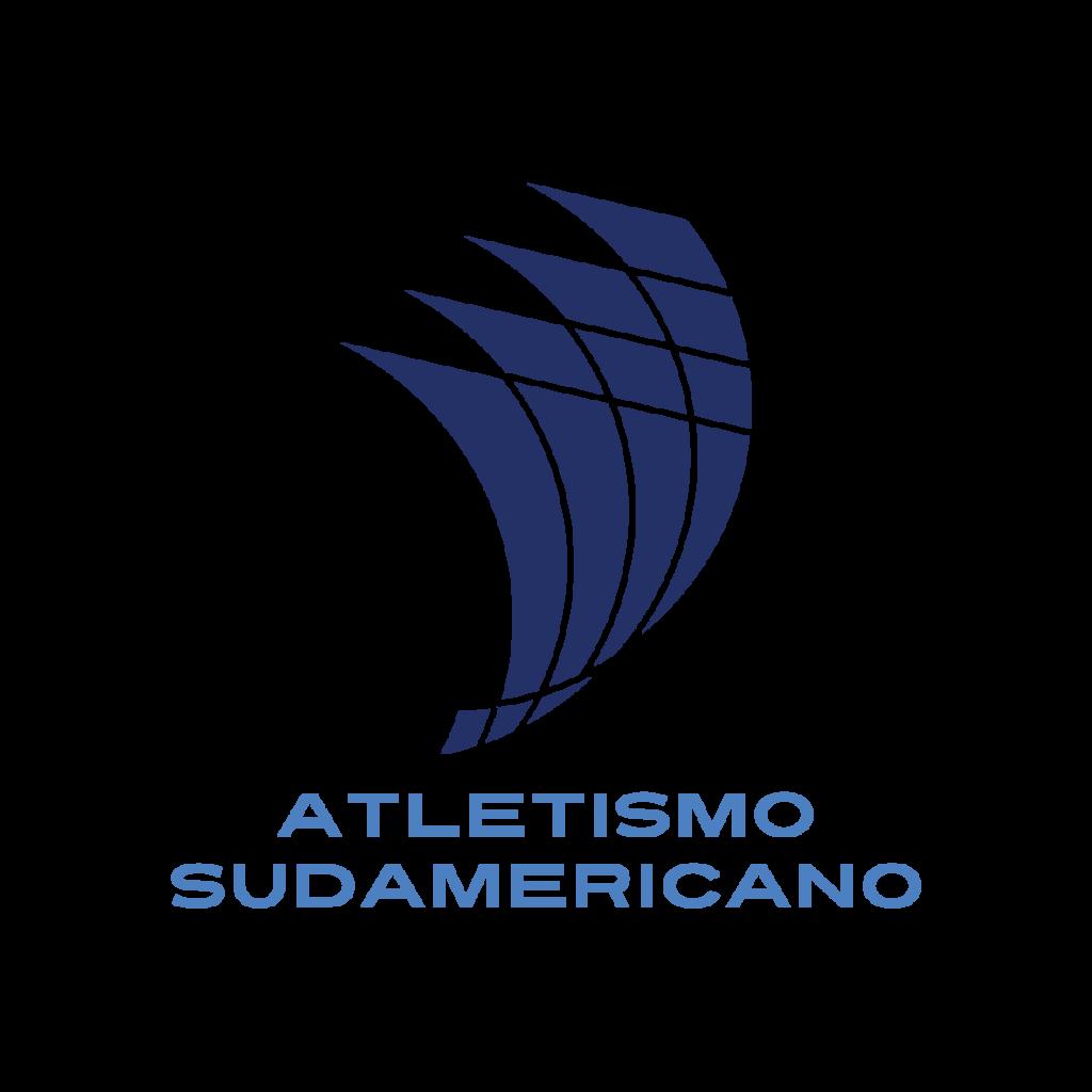 logo oficial de atletismo sudamericano 2021