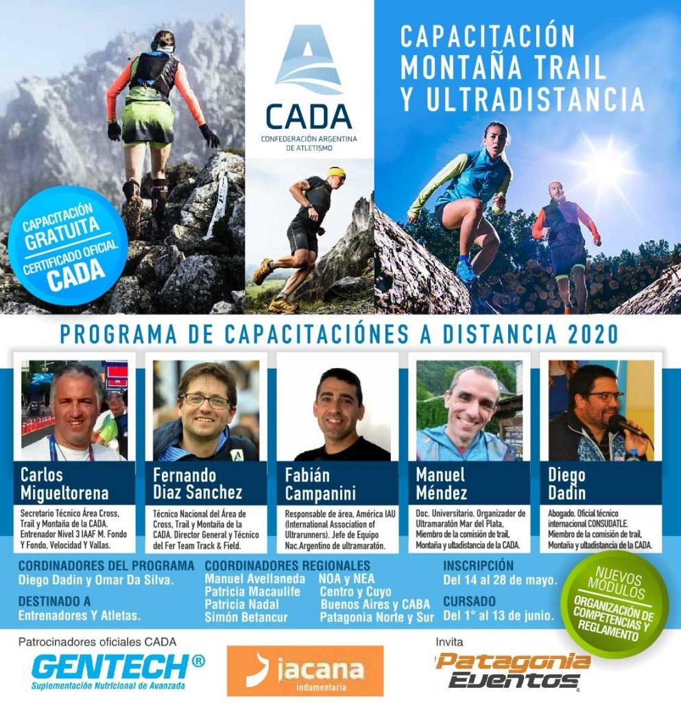 Comienza Capacitación de Montaña Trail y Ultra Distancia 1