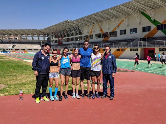 Avanzada Atletica en Cochabamba 1