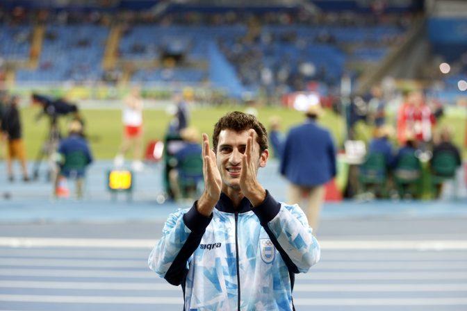 Germán Chiaraviglio compite en Francia 1
