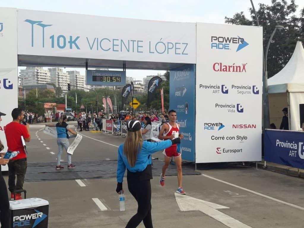 FRENCIA Y MAINETTI GANARON LOS 10K DE VICENTE LÓPEZ