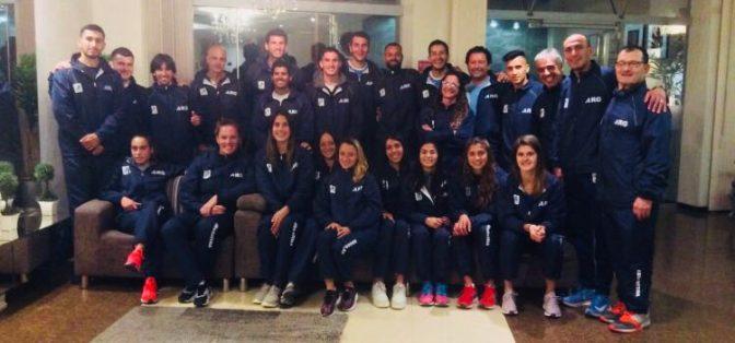 El plantel argentino prepara su debut en el Ibero de Trujillo 1