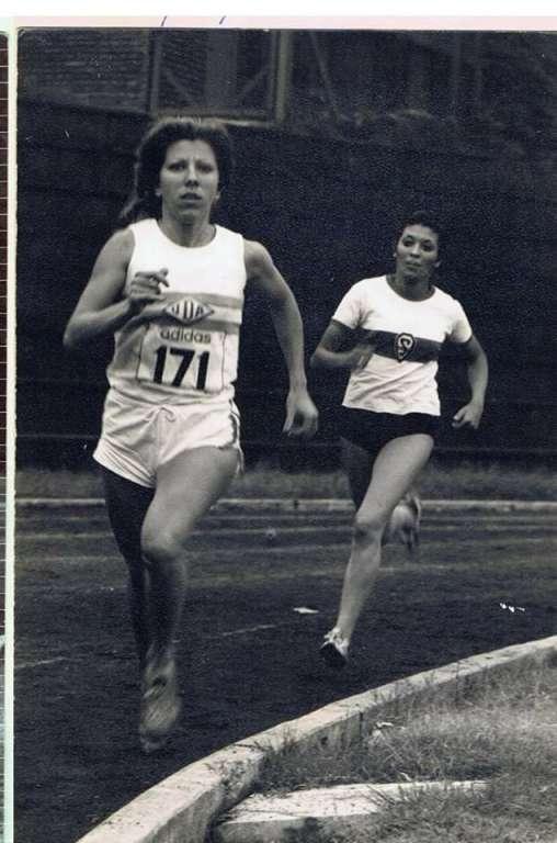 Homenaje a Iris Fernández en el maratón BA 2