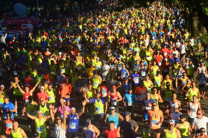 Todo listo para el Maratón de Buenos Aires 2