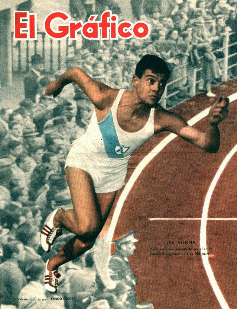 Luis Vienna, otro destacado velocista 3