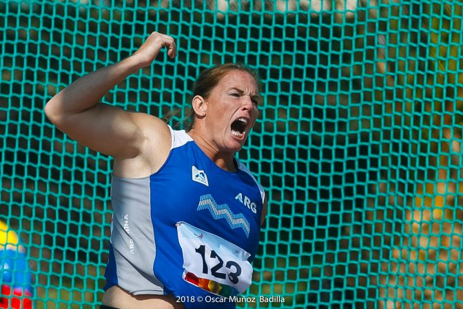 Jennifer Dahlgren: medalla de oro en Cochabamba 4