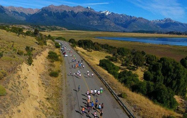 Arbe y Thomas ganaron el medio maratón de Esquel 1