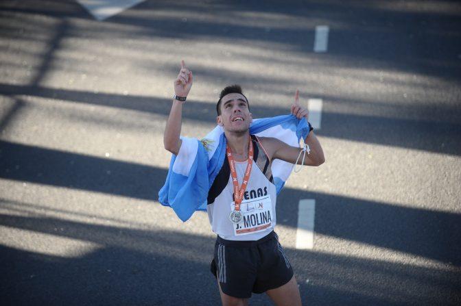 Marcos Julián Molina, el héroe argentino de los 21k 3