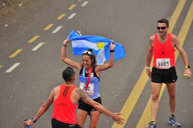 David Rodríguez y Mariela Ortiz, vencedores de otro medio maratón 1