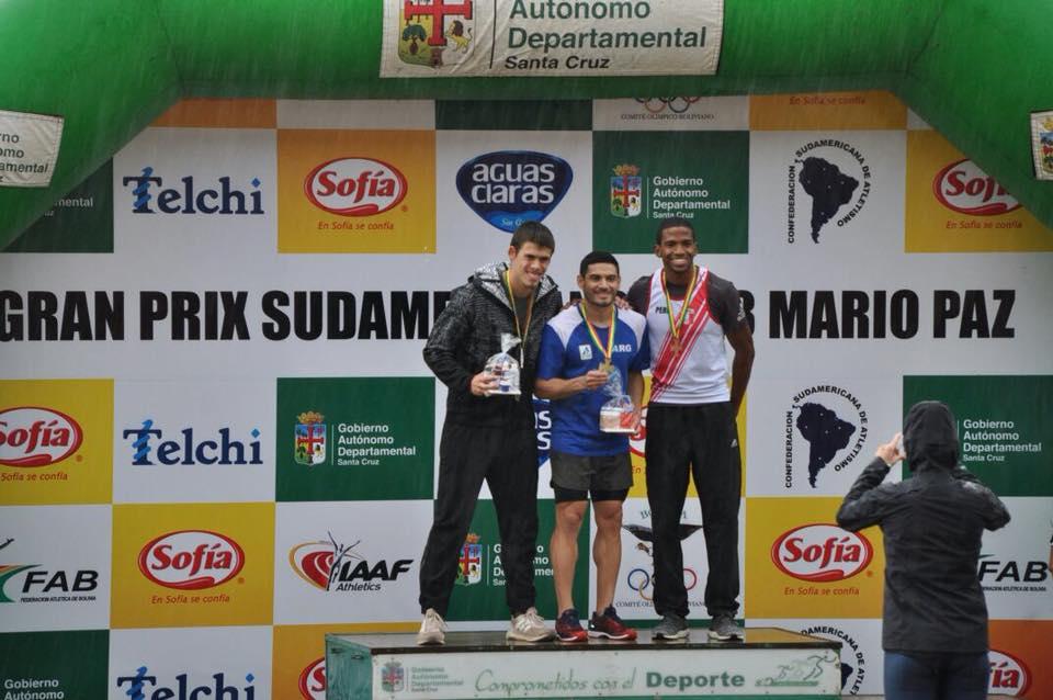 Los velocistas argentinos y Levaggi ganaron en Bolivia 1