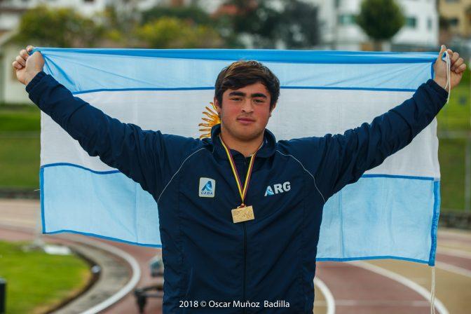 Otro récord de Nazareno Sasia, ahora en la u20 1