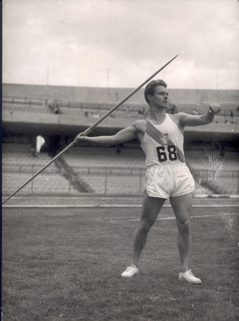 Ricardo Heber, otro coloso de la jabalina 1