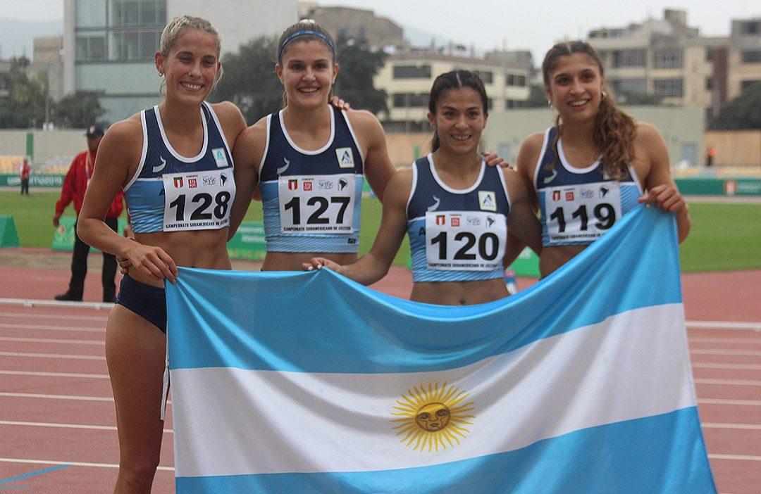 El relevo largo sumó otro bronce, en el cierre del Sudamericano 1
