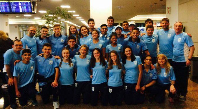 El equipo Argentino U-17 viajó a los Odesur de la Juventud