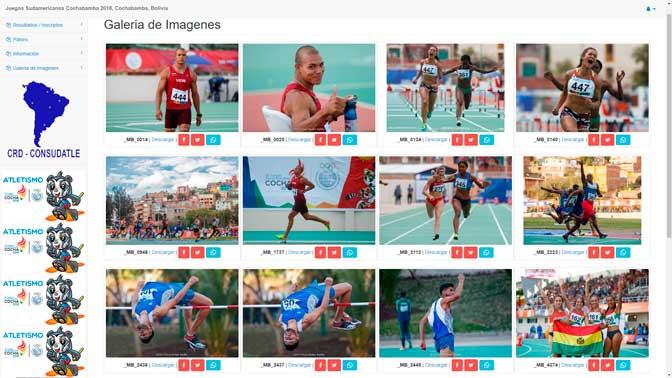 Todas las fotos de los Juegos Sudamericanos Cochabamba 2018 1