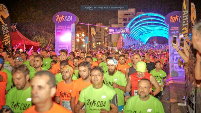 Córdoba vibró con su medio maratón nocturno