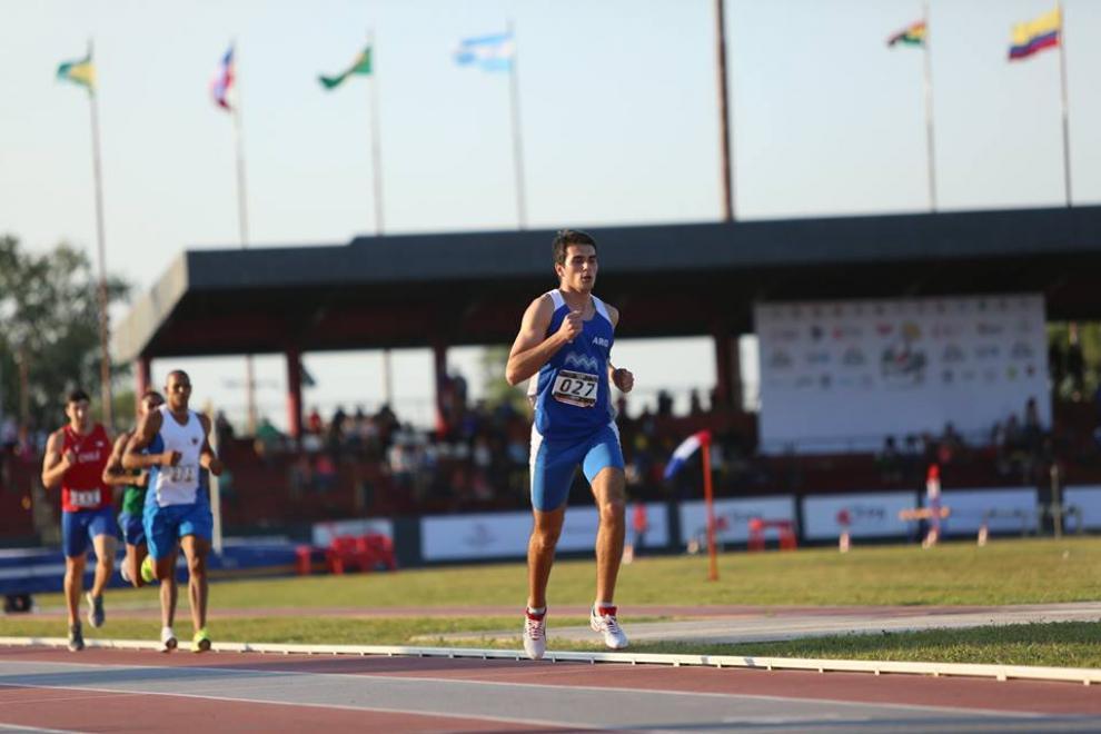Sergio Pandiani, sexto en la Universiada 1